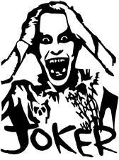 Vinyl Decal Joker Jared Leto Suicide Pick Size Amp Color Car Truck Fits Sticker