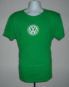 Volkswagen VW Enjoying The Ride T-Shirt Blue Slim Fit Large