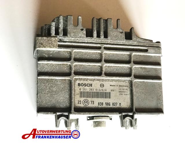 VW Golf 3 Unité de Commande de Moteur 030906027M Bosch 0261203613/614