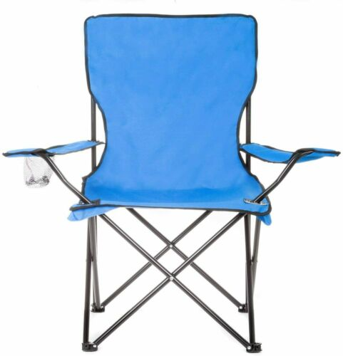 Folding Portable Garden Camping Fishing Festival Folding Chair With Cup Holder