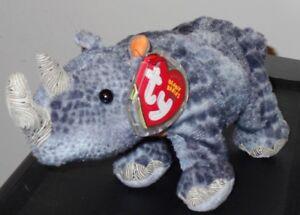 99056e2439f Ty Beanie Baby ~ NAMI the WWF Black Rhino (7.5 Inch)(Internet ...