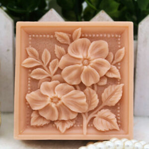 Flower Silicone Soap Mold Homemade Soap