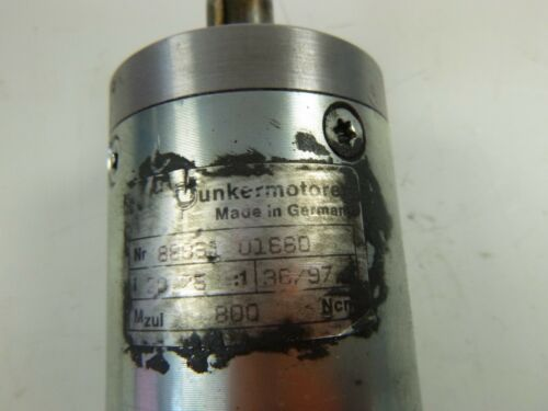 dunkermotoren GR 42x40 88851 01660