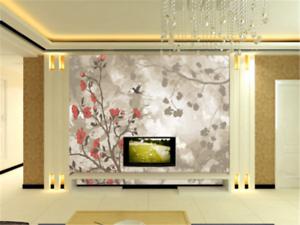 3D Branches Birds 993 Wallpaper Mural Paper Wall Print Wallpaper Murals UK