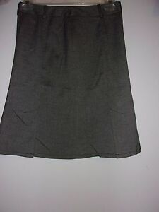 INC International Concepts Tweed Knee Length Skirt Sz 4 Waist 28 Length 22 in