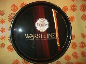 Ancien-GRAND-PLATEAU-DE-SERVICE-PUBLICITAIRE-WARSTEINER-BEER-BIERE-Cafetier-Pub