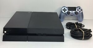 Sony-PlayStation-CUH-1115A-500GB-PS4-Console-Jet-Black-W-Controller-TESTED