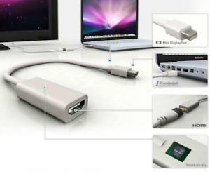 ✅Mini DisplayPort DP zu HDMI Adapter Kabel für Apple Mac Book Pro / Air ✅ *NEU*