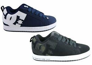 Mens-Dc-Court-Graffik-Durable-Lace-Up-Skate-Board-Shoes-ModeShoesAU
