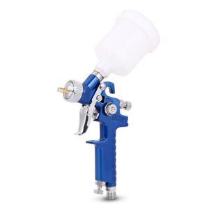 Mini HVLP Air Spray Gun Auto Car Detail Touch Up Paint Sprayer Spot Repair 0.8MM