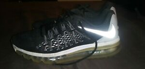 Nike-Air-Max-2014-Women-039-s-Running-Shoes-Black-White-698903-001-Size-8-5