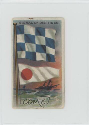 1910 191011 ATC Flags all Nations #SIDI Signal of Distress NonSports Card z6d
