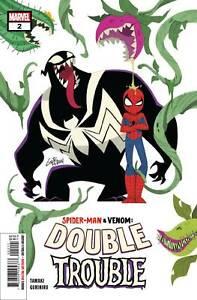 Spider-Man-Venom-Double-Trouble-2-Marvel-comic-1st-Print-2019-unread-NM