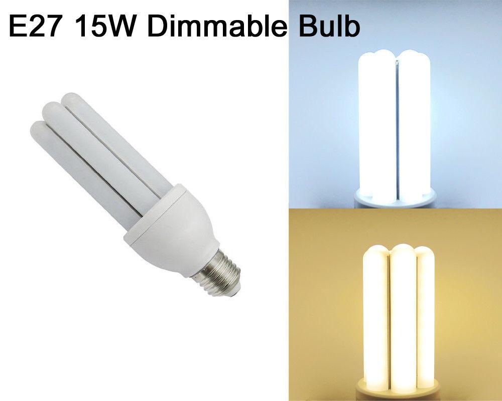 Equivalente de 150 W E27 15 W LED Lámpara Luz Regulable sin parpadeo de azulb 110 V 220 V  6I-D