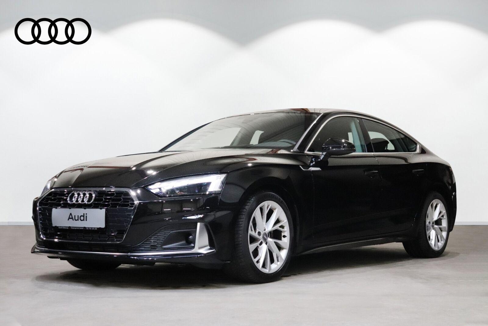 Audi A5 40 TFSi Advanced Sportback S-tr. 5d - 484.900 kr.