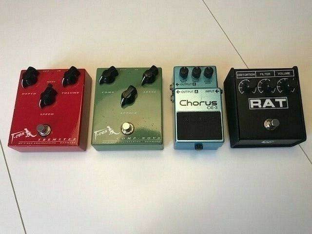 Guitar pedaler diverse