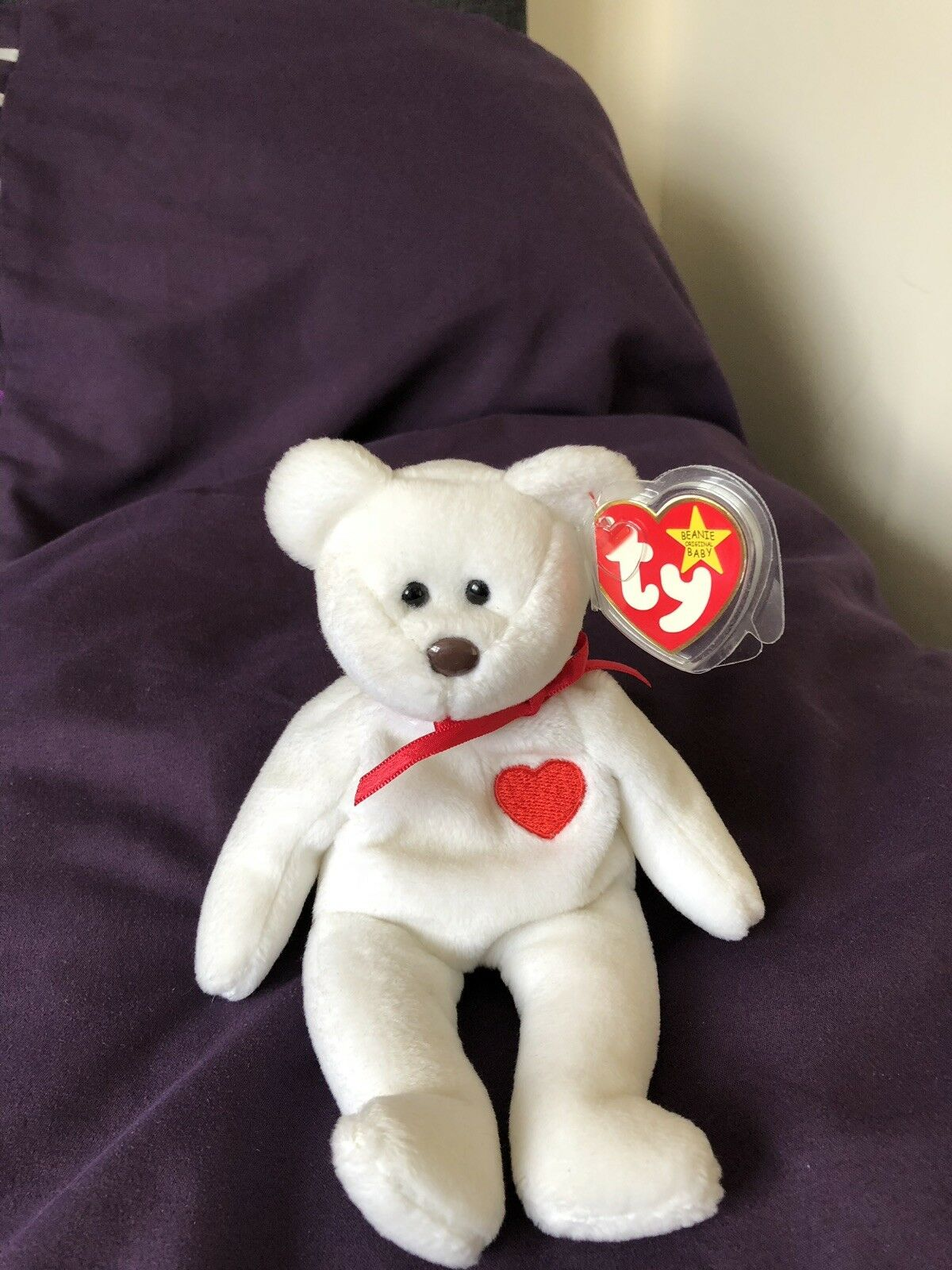 TY Valentino Beanie Baby 1993 with Errors very rare