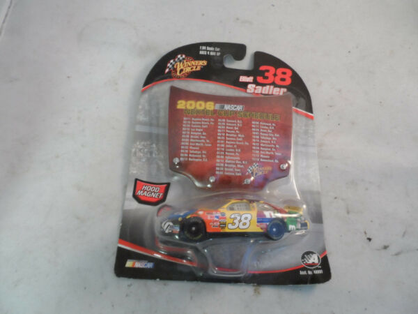 #38 Elliott Sadler Winners Circle 1:64 Scale NASCAR MMs Scheme Hood Magnet