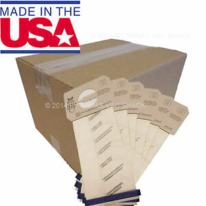100 Bags for Electrolux Proteam Upright Vacuum Cleaner STYLE U DVC Bag