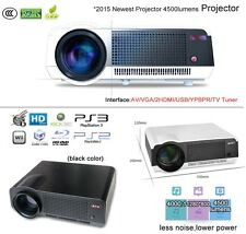 NEW LED-86 220W 4500 lumens Full HD 1080P LED 3D HDMI TV Home Theater Projector