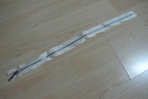 Reißverschluss grob metall  nicht teilbar 40cm  Farbe Creme Sonderposten Restp