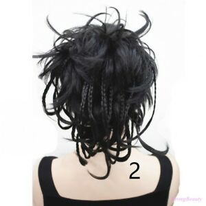 HairClip-Ponytail-Clip-on-Short-Curly-Extensions-hair-Hairpiece-Braided-Wig