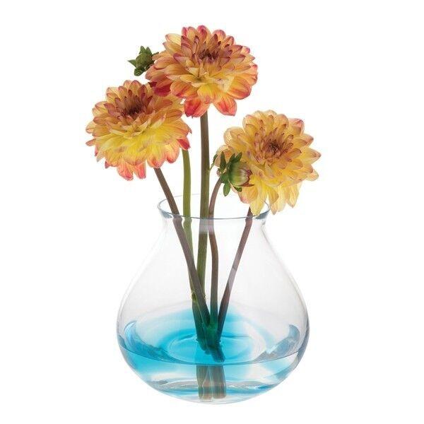 Dartington Trial Bleu Sarcelle Large Vase