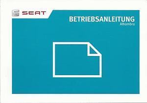 SEAT-ALHAMBRA-Betriebsanleitung-2014-2015-Bedienungsanleitung-Handbuch-BA