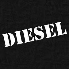 Diesel Gasolin Militär Tankdeckel Shocker OEM Sticker Auto Aufkleber JDM 12cm