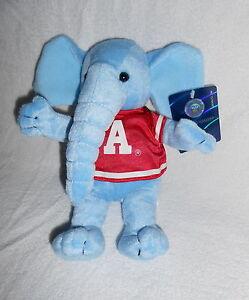 Alabama Crimson Tide Big Al Elephant Plush Mascot Stuffed Soft Toy