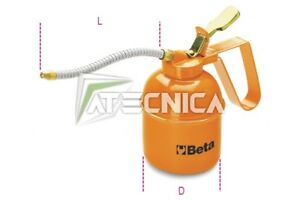 Oliatore Beta Tools 1751 500 cc oleaotore pompa olio beccuccio flessibile