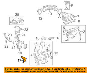 acura honda oem 09-10 tsx air cleaner intake-shield ... tsx engine diagram 09 tsx engine diagram