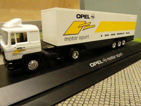 1 87 Herpa MAN F90 OPEL Motor Sport