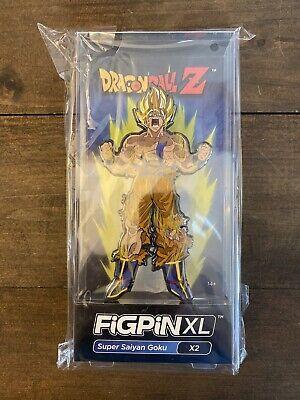 #29 Collector Pin Reissue FiGPin Dragon Ball Super NEW Super Saiyan Goku