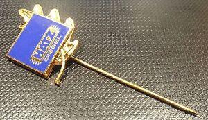 Anstecknadeln Ab 1945 Sammeln & Seltenes Hatz Diesel Anstecknadel Emailliert Golden Eichenlaub 40 Jahre 20x23mm Original SchöN Und Charmant
