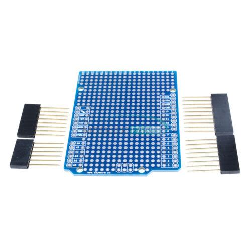 For Arduino UNO R3 Shield Prototype PCB Atmega328P Mega 2560 2.54mm Breadboard