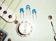 3 Treble Bleed Cap Kondensator Volume Upgrade für Fender Stratocaster Telecaster