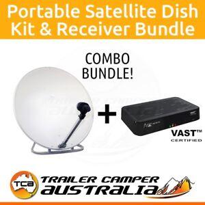 Vast-Portable-Satellite-TV-Dish-Kit-Altech-UEC-DSD4921RV-Sat-Receiver-Decoder