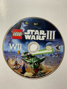 Lego-Star-Wars-3-The-Clone-Wars-Nintendo-Wii-Disc-only-Tested-FAST-SHIPPING