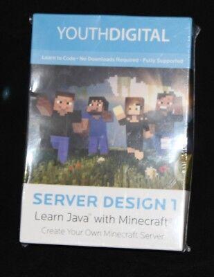 SEALED software YouthDigital Server Design 1 learn Java MINECRAFT Youth  Digital   eBay
