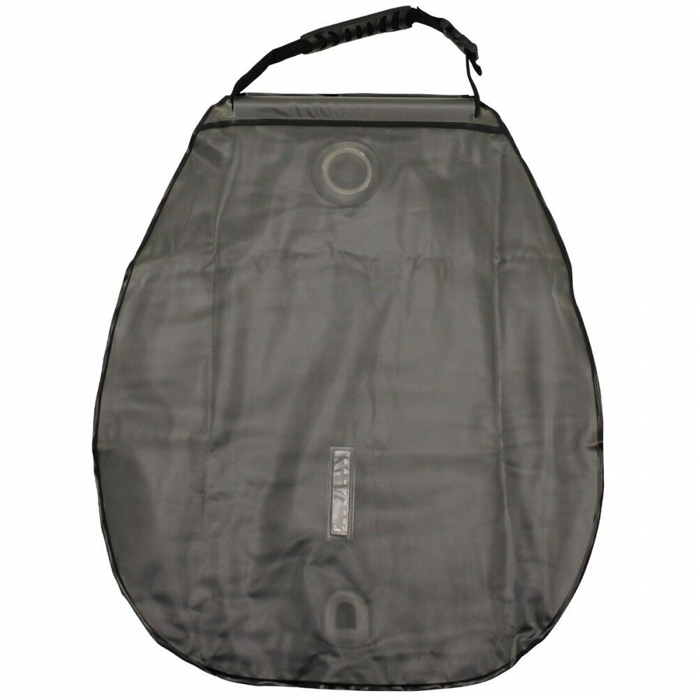 Douche solaire Deluxe Deluxe Deluxe 20 L Olive Avec Transport Sac mobile Douche Polyester 225b4c