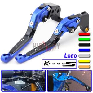 For BMW K1200S K1200R SPORT 04-08 Extending Clutch Brake Levers CNC Adjustable
