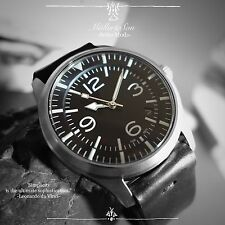 Seiko SNZG Dress Pilot Watch Mod Easy Read Automatic