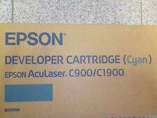 Toner Epson Aculaser Cyan Ciano Blu Originale Nuovo New Epson c900/c1900