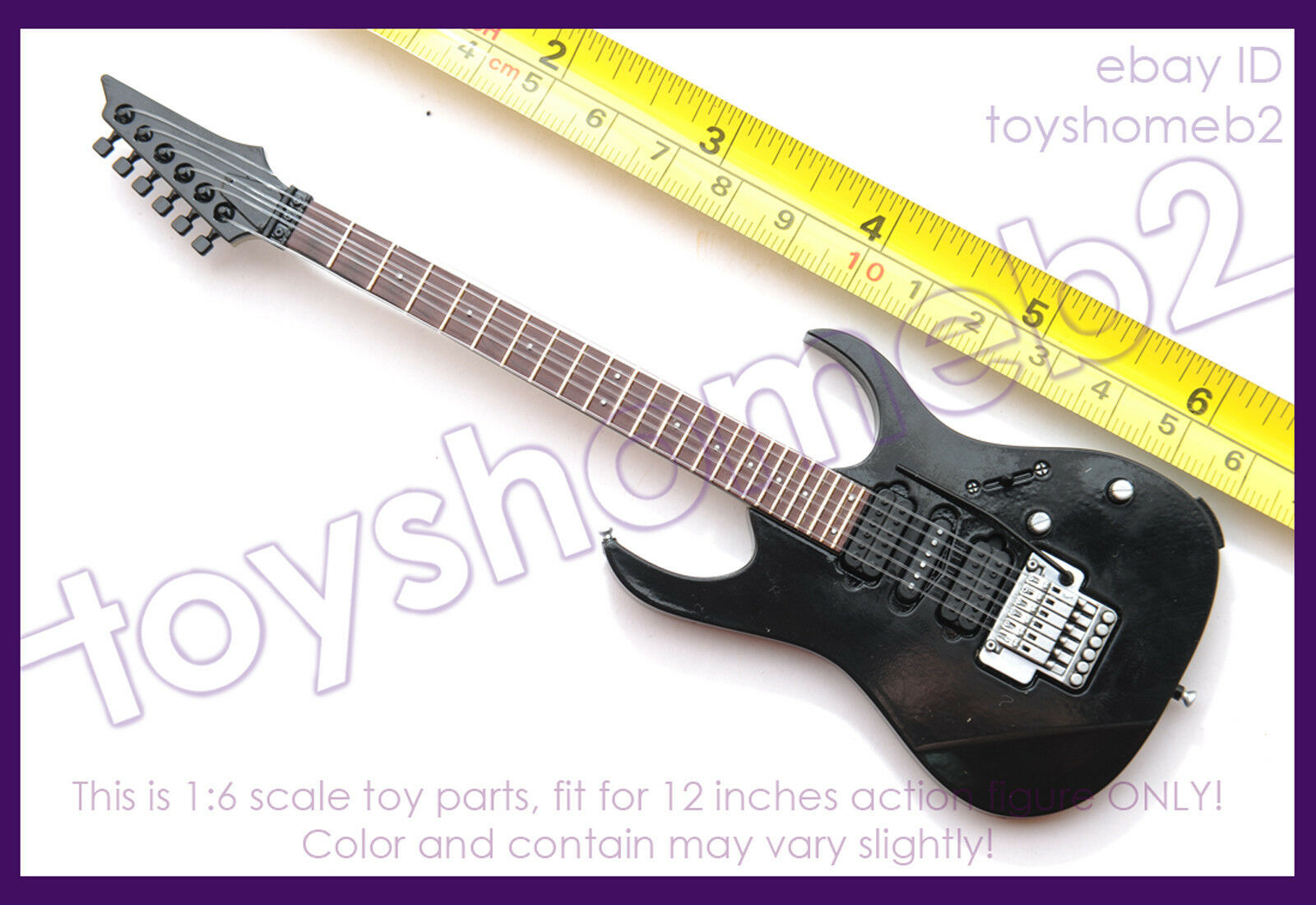 1 6 scale HOT TOYS MMS210 THE THE THE CROW Eric Draven GUITAR 369c27