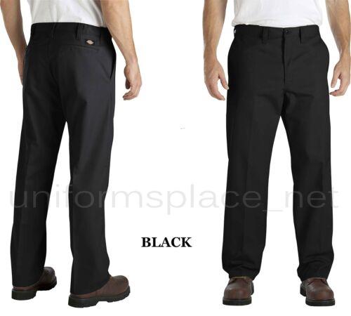 Dickies Pants Industrial Flat Front Comfort Waist Pant LP817 CHARCOAL BLACK NAVY