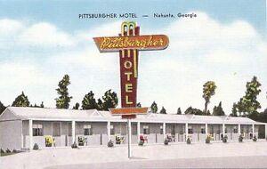 Postcard-Pittsburgher-Motel-Nahunta-Georgia