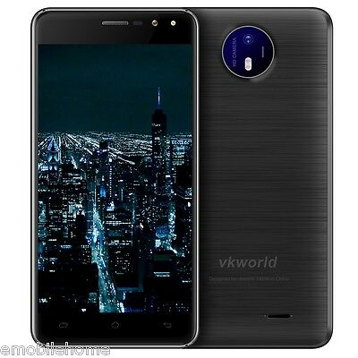 """Vkworld F2 3G Smartphone 5.0"""" 2.5D Android 6.0 MTK6580A Quad Core 1.3GHz 2G+16GB"""