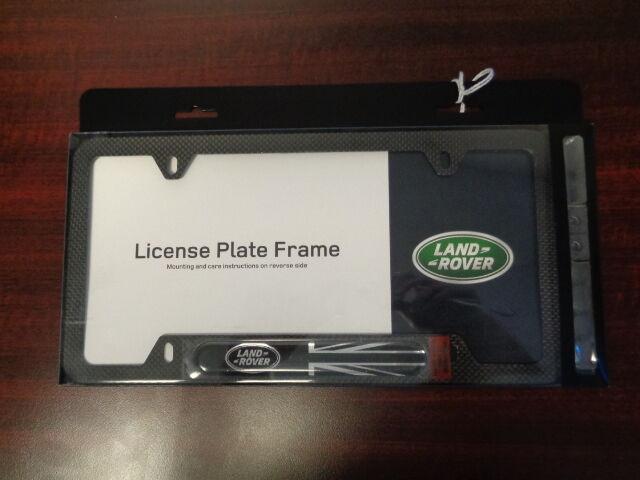 Genuine License Plate Frames-carbon Fiber Land Rover VPLFY0063   eBay