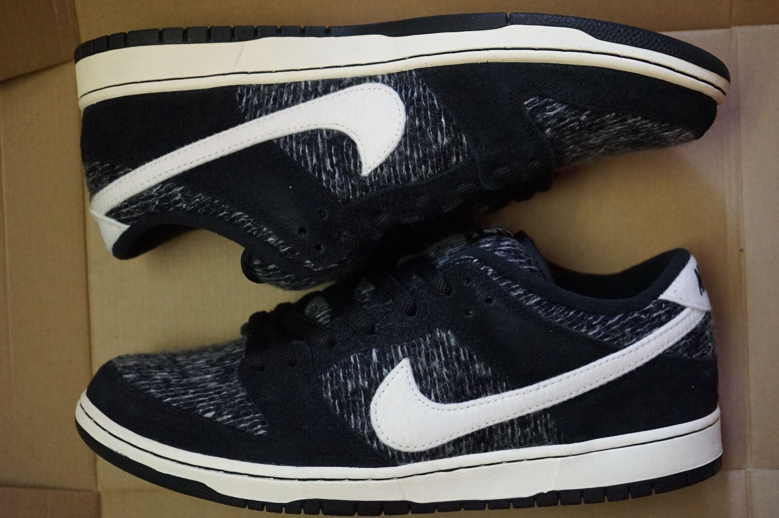 NIKE DUNK faible WARMTH Taille 7-7.5-8.5 homme SKATEBOARDING chaussures (685174 005)